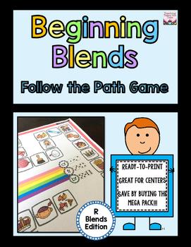 Beginning Blends Follow the Path - R-Blends Edition