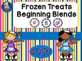 Beginning Blends Frozen Treats Theme Interactive PowerPoin