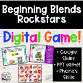 Beginning Blends Interactive Digital Game!! Great for Remo