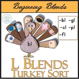 Beginning L Blends Turkey Sort