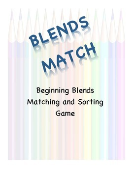 Beginning Blends Match
