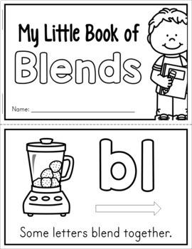 Beginning Blends Mini Book - Free