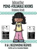 Beginning Blends Mini Flip Book Foldable