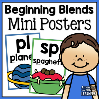 Beginning Blends Mini Posters