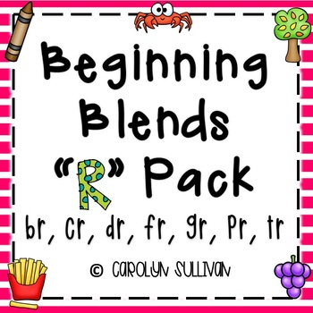 "Beginning Blends Pack - For the ""R"" Blends"
