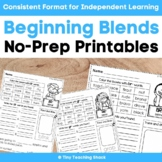 Beginning Blends Phonics