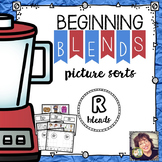Beginning Blends Picture Sorts  R Blends