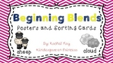 Beginning Blends Posters and Word Sort Pack
