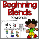 Beginning Blends Powerpoints *EDITABLE*