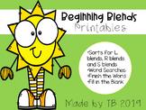 Beginning Blends Printables