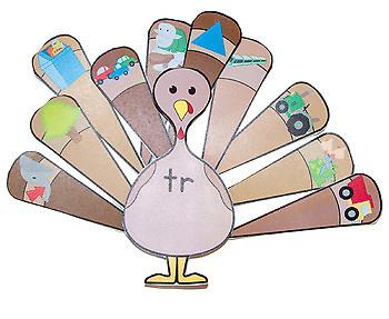 Beginning R Blends Turkey Sort