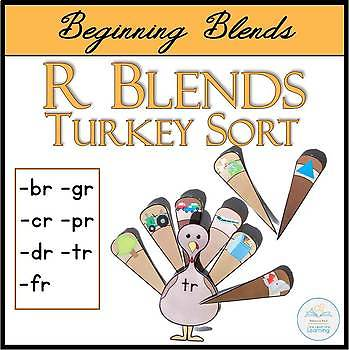 Beginning R Blends Turkey Sort