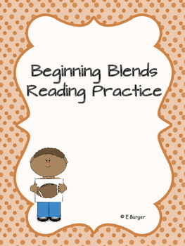 Beginning Blends Reading Practice