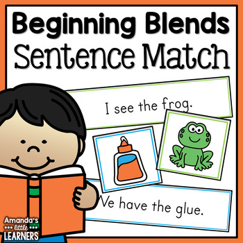Beginning Blends Sentence Matching