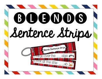 Beginning Blends Sentence Strips