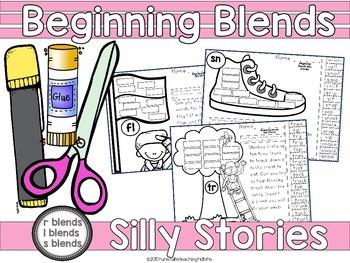 Beginning Blends Silly Stories