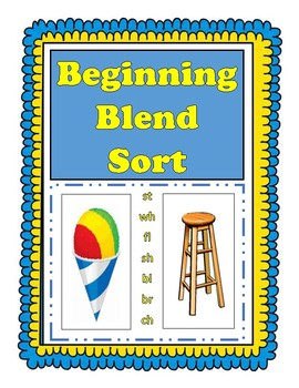 Beginning Blends Sorting Center