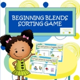 Beginning Blends Sorting Game (Activity)
