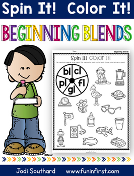 Beginning Blends Spin It Color It