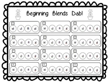 Beginning Blends Spring Dab