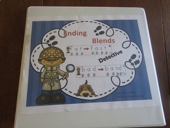 Ending Blends Tap Cards Wilson Fundations Reading Unit 8 (Dyslexia)