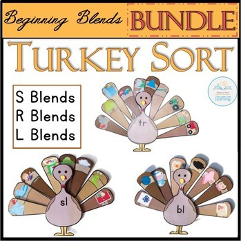Beginning Blends Turkey Sort BUNDLE