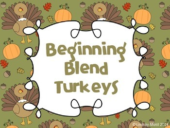 Beginning Blend Turkeys