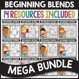 Beginning Blends ULTIMATE BUNDLE - Beginning Blends Worksheets