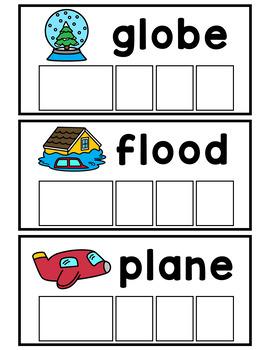 Beginning Blends Word Building Cards