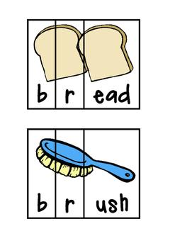 Beginning Blends Word Puzzle Bundle!