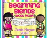 Beginning Blends Word Work!!!