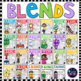 Beginning Blends Worksheets - Consonants Blends Activities BUNDLE