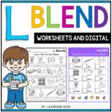 Beginning Blends Worksheets - L Blends Worksheets