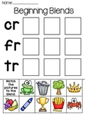 Blends Fun Worksheets (Initial Consonant Blends)
