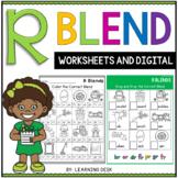 Beginning Blends Worksheets - R Blends Worksheets