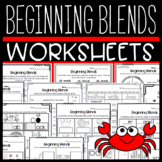 Beginning Blends Worksheets and Puzzles