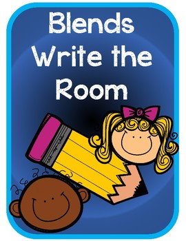 Beginning Blends Write the Room
