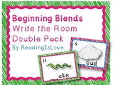 Beginning Blends Write the Room Double Pack