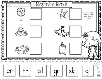 Beginning Blends and Digraphs Too!