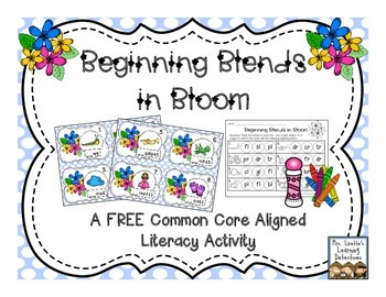Beginning Blends in Bloom {FREE}