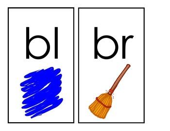 Beginning Blends/Digraphs Flashcards