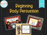 Beginning Body Percussion Bundle (Classics): Can-Can, Glad