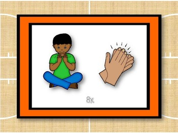 Beginning Body Percussion: Get Ready for This! (Pictures Only)