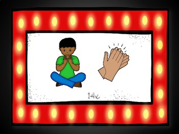 Beginning Body Percussion: Infernal Galop/Can-Can (Pictures Only)