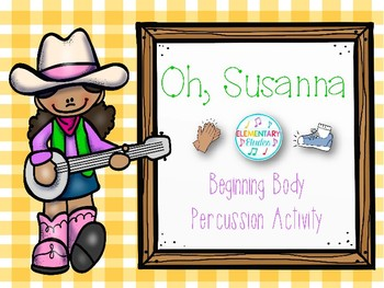 Beginning Body Percussion: Oh, Susanna (Pictures Only)