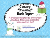 Beginning Book Reports - January Snowmap