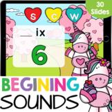 Beginning CVC Words Unicorns and Hearts Kindergarten Readi