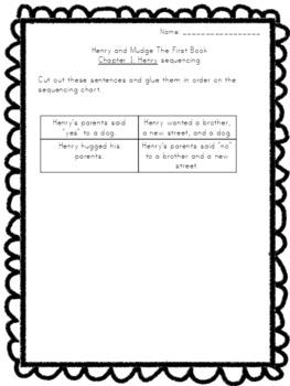 Beginning Chapter Books Literature Study Packets Bundle