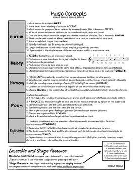 Beginning Chorus Study Guide