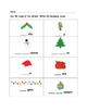 Christmas - Beginning Sounds
